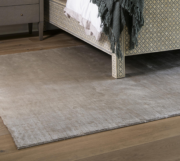 Signature Area Rug by J. Leigh Carpets with serged edging finish